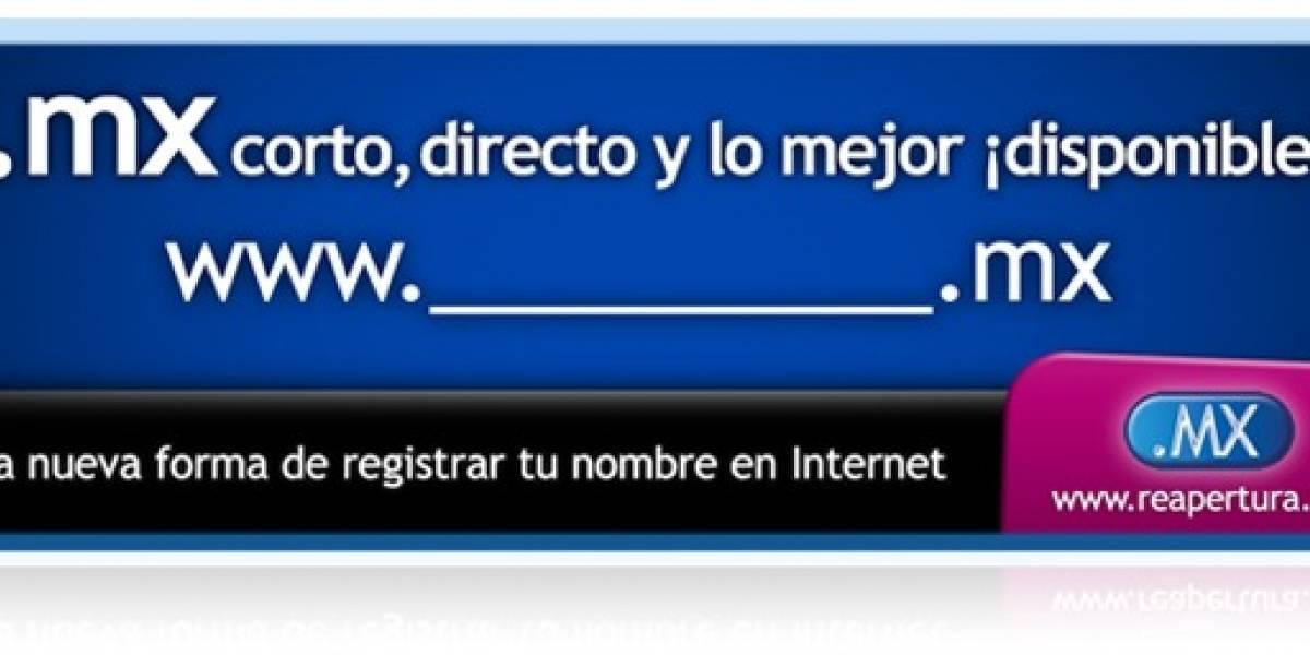 NIC México comienza con el registro de dominios de primer nivel