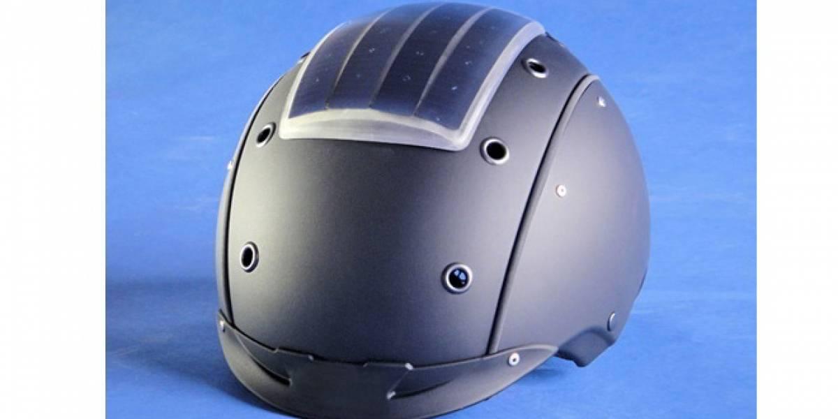 Crean un casco de esquí que podría convertirse en nuestra batería de reserva