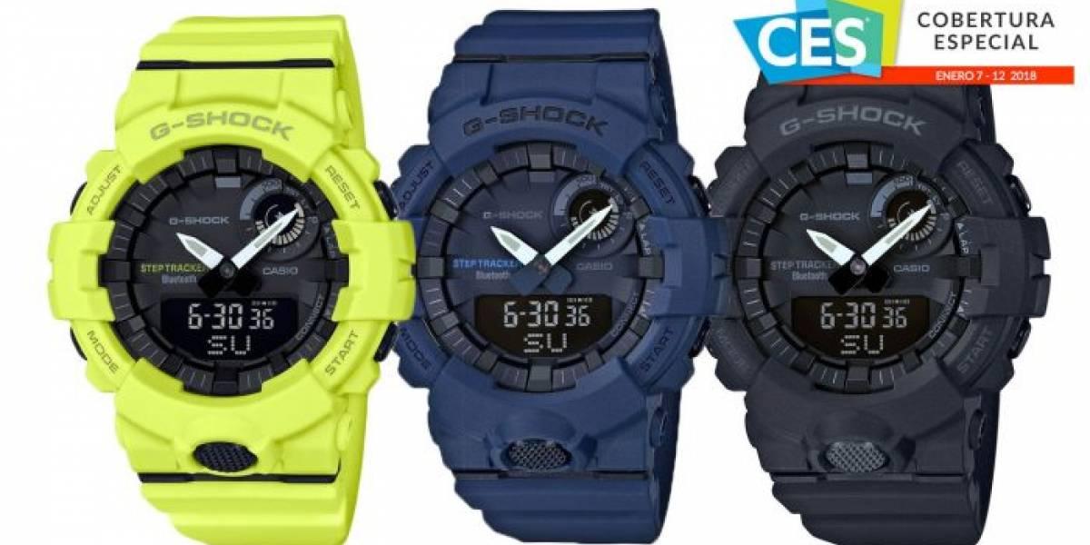 Casio G-SQUAD es un reloj para hacer ejercicio que se conecta con tu smartphone