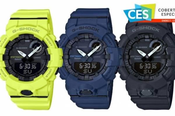 8f030a3e685f Casio G-SQUAD es un reloj para hacer ejercicio que se conecta con tu  smartphone