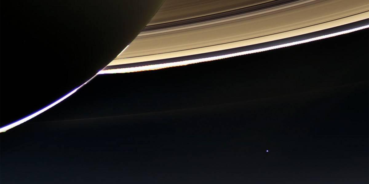 Sonda Cassini fotografía la Tierra desde 1.500 millones de km de distancia
