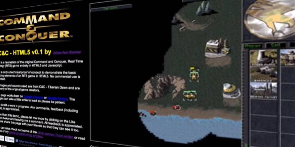 Command & Conquer en versión HTML5