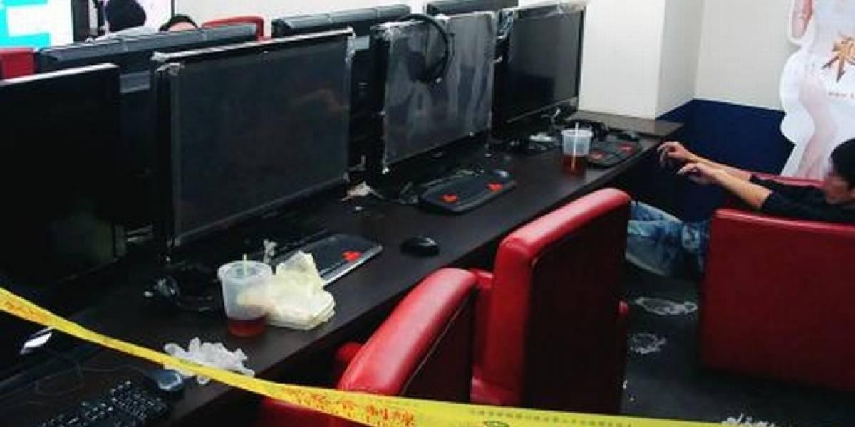 Taiwanés pasa 9 horas muerto en cibercafé y a nadie le importa