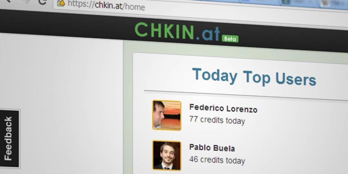 Chkin.at, para hacer check-in cuando estás en el mundo virtual [FW Startups]