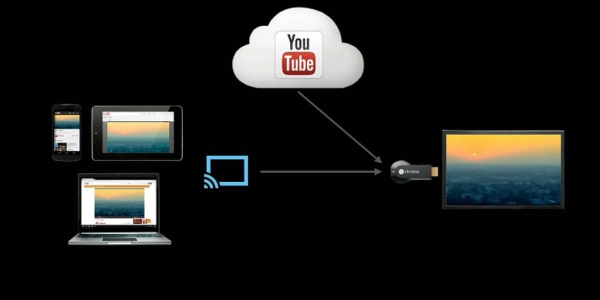 Chromecast llevará videos, música y hasta fotos desde el teléfono hasta el televisor