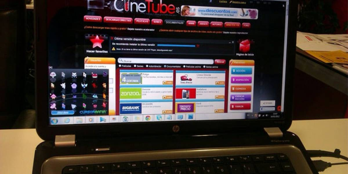 Cinetube fue absuelta: Reafirman que enlazar a descargas es legal