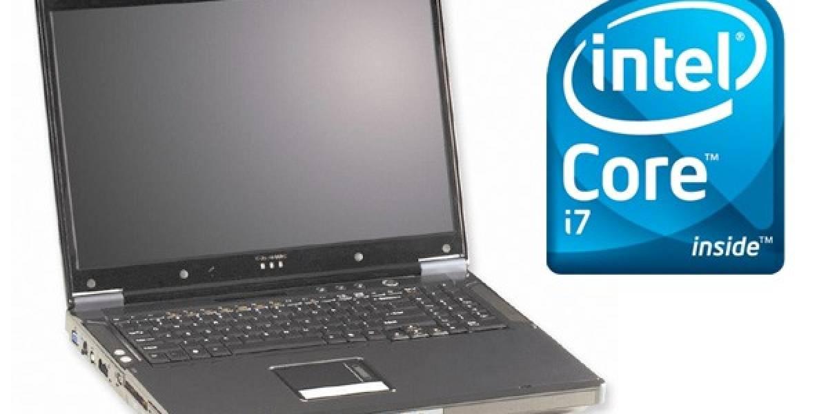D900F Phantom: Posiblemente la primera laptop con procesador Intel i7