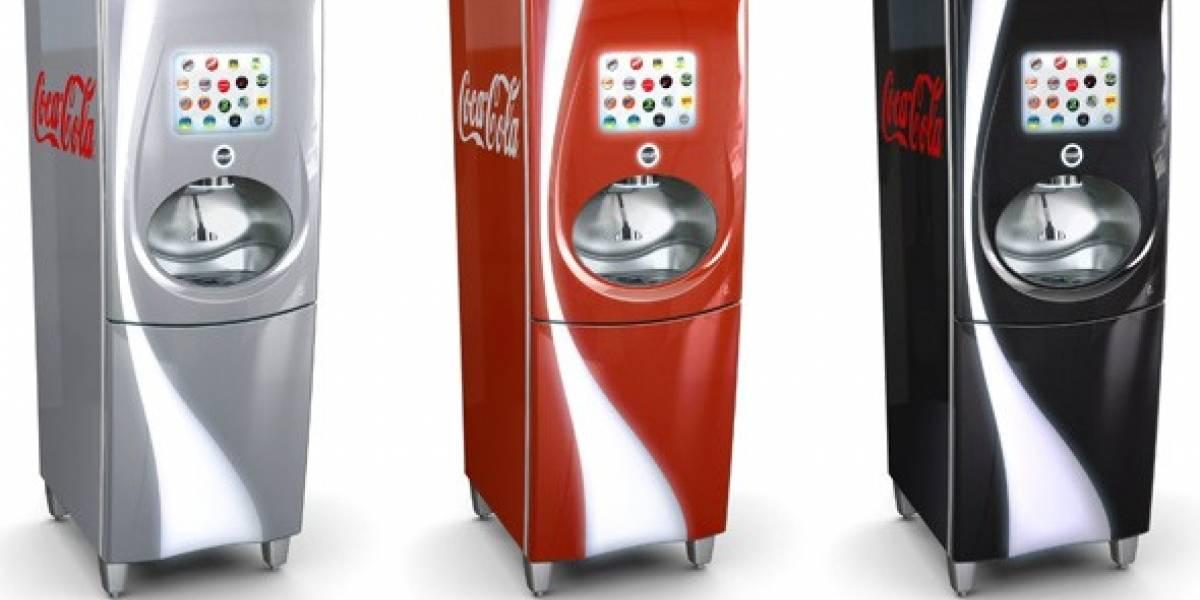 Coca Cola prueba máquina que expende bebidas de 104 sabores