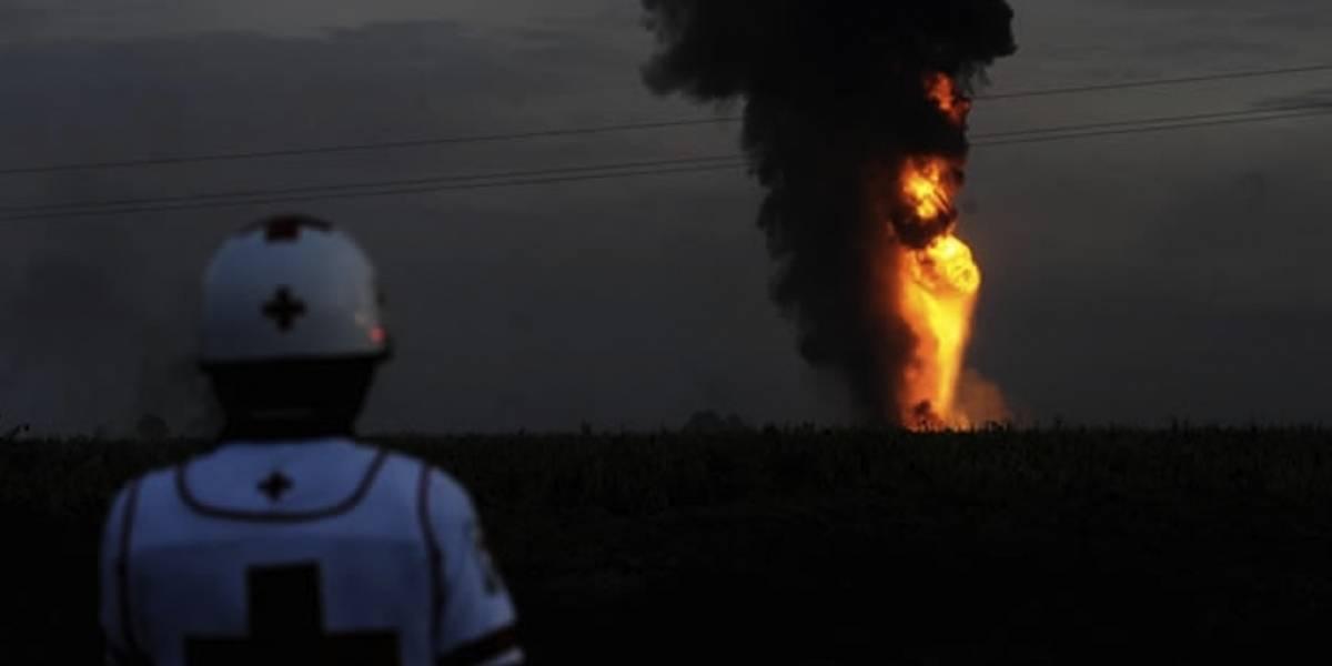 Explosión de Pemex: ¿cómo se apagó el incendio en un oleoducto?