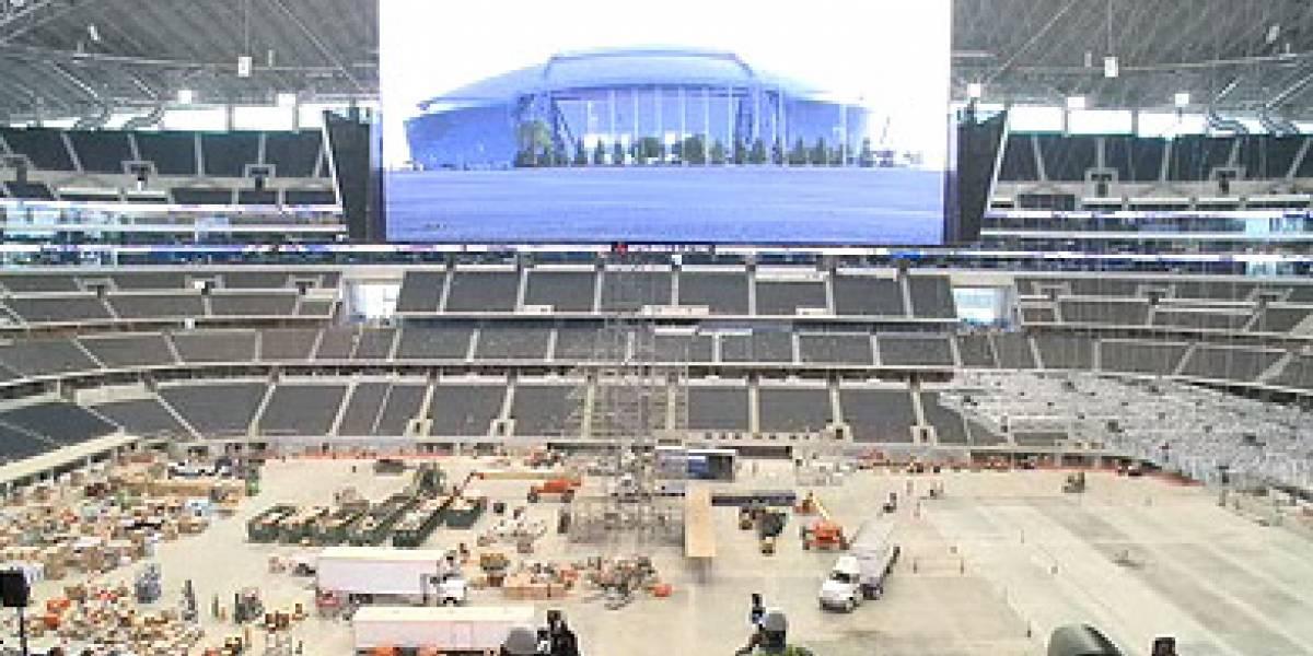 Dallas estrena la pantalla HD más grande del mundo