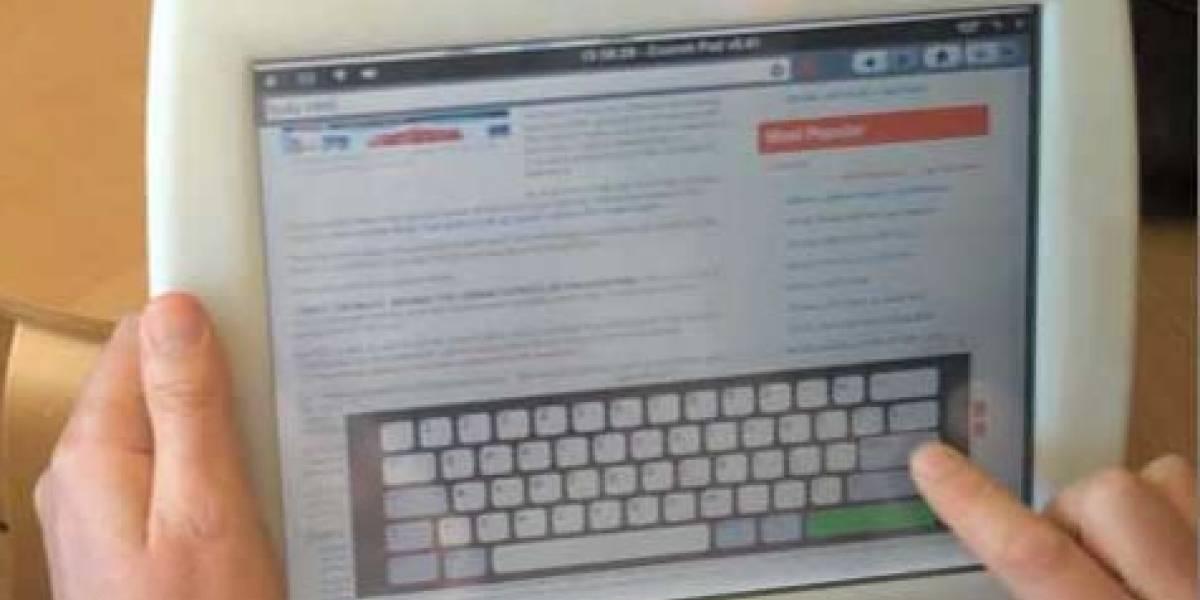 Nuevo prototipo de la tableta web CrunchPad