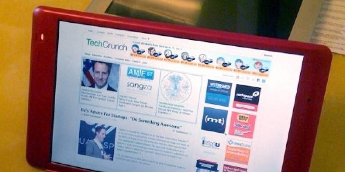 Se filtran nuevas fotos del Tablet PC de TechCrunch