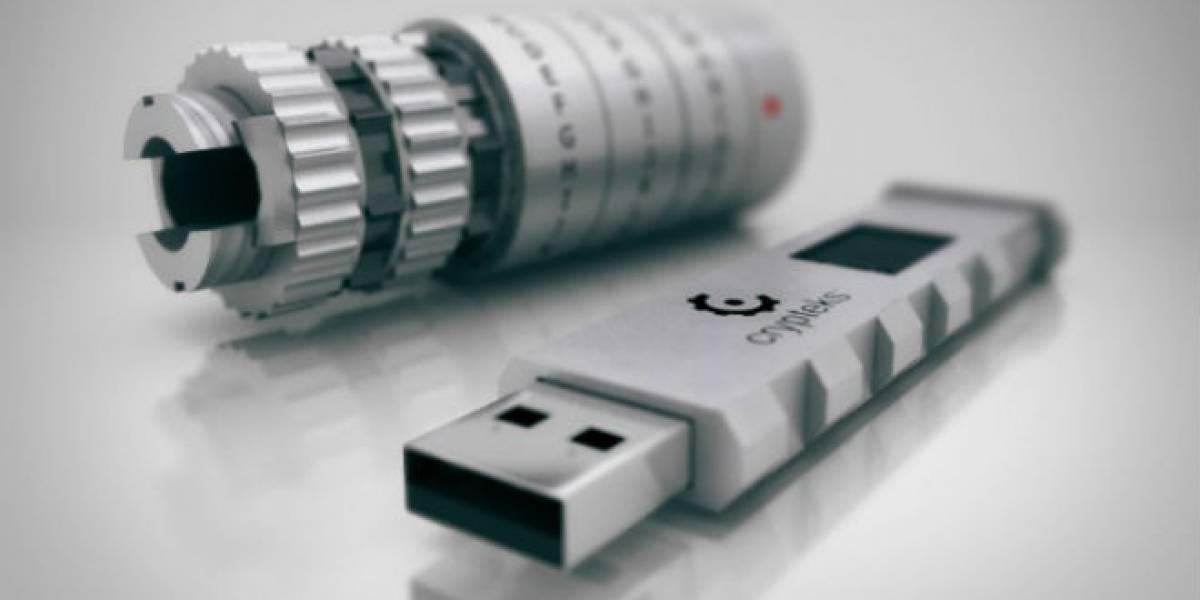 Crypteks: Una memoria USB que se toma la seguridad en serio