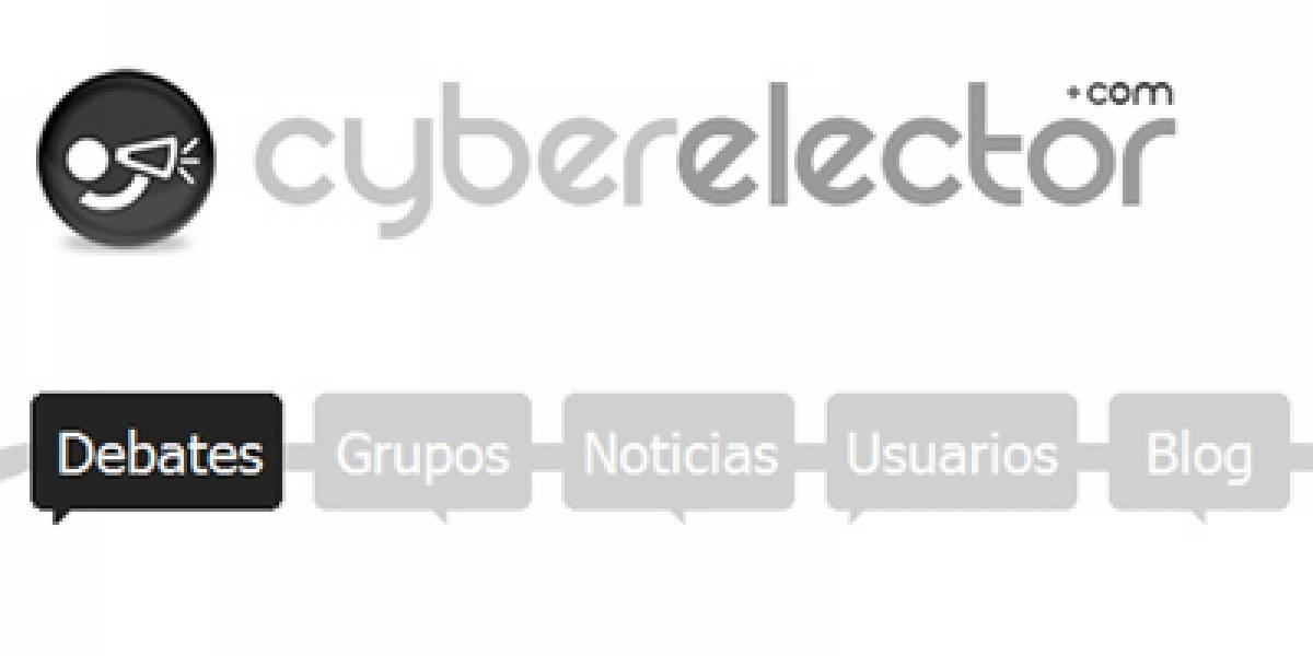 Nace CyberElector: Una red social para el debate político