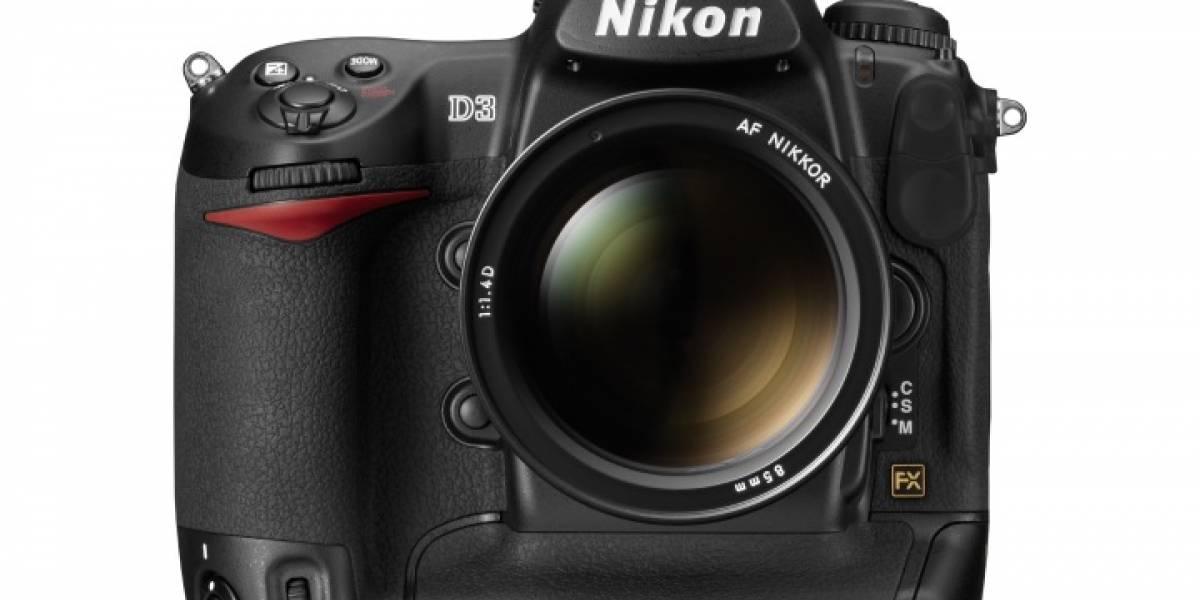 Sin Palabras: Nikon D3 partida por la mitad