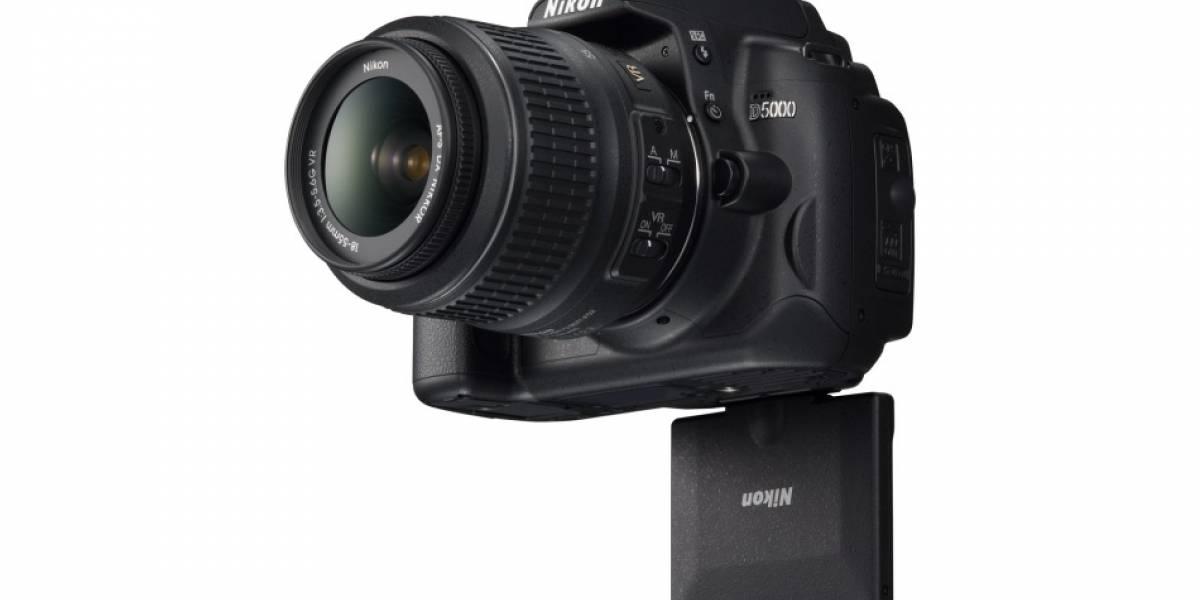 Nikon D5000: Graba HD y tiene pantalla abatible