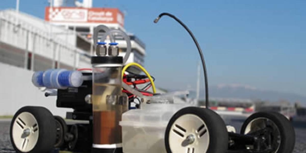 Españoles crean auto radiocontrolado que se alimenta como el DeLorean
