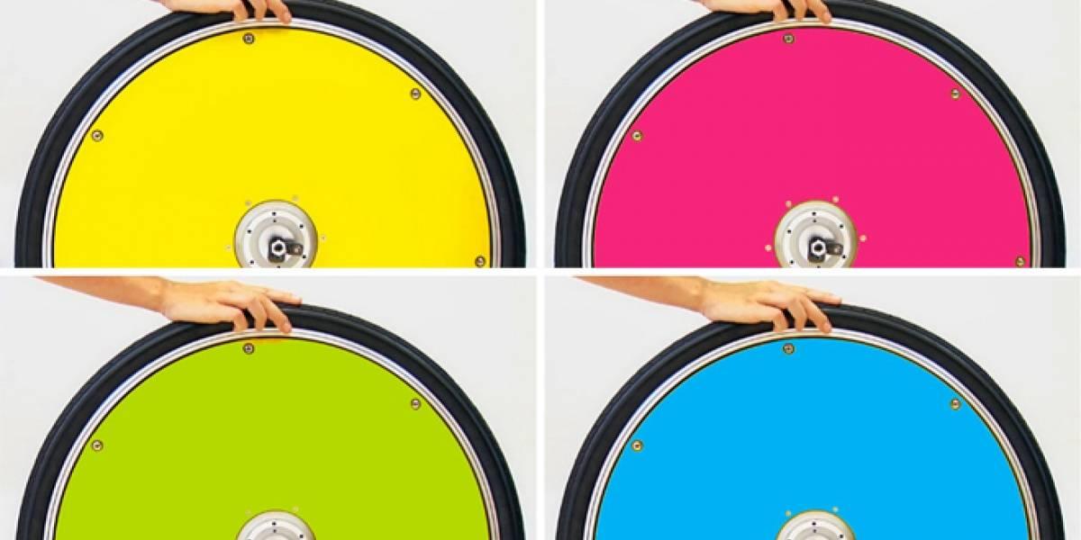 Convierte tu bicicleta en una eléctrica con sólo cambiar una rueda