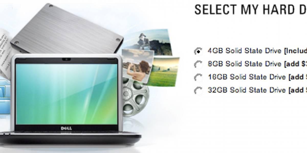 Dell Inspiron Mini ahora tiene hasta 32GB en SSD
