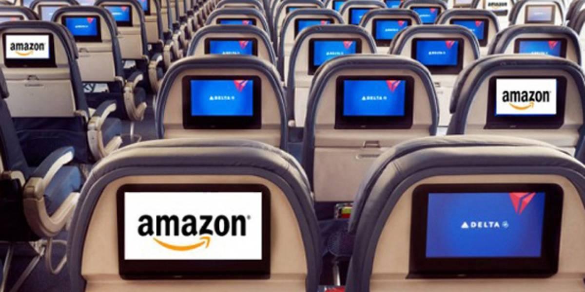 Pronto podrás comprar en Amazon durante los vuelos con Delta Airlines