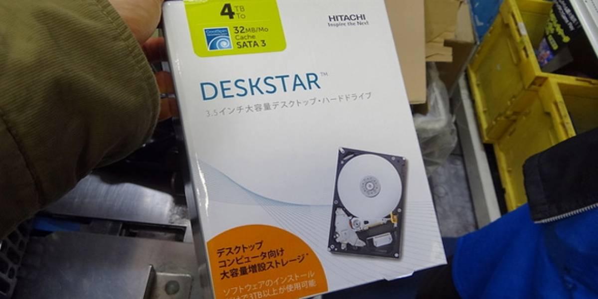 Hitachi ofrece el primer disco duro interno de 4TB