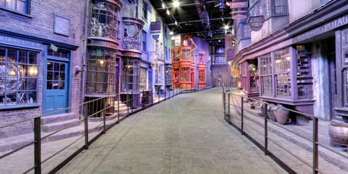 El Diagon Alley de Harry Potter ahora se puede recorrer gracias a Street View