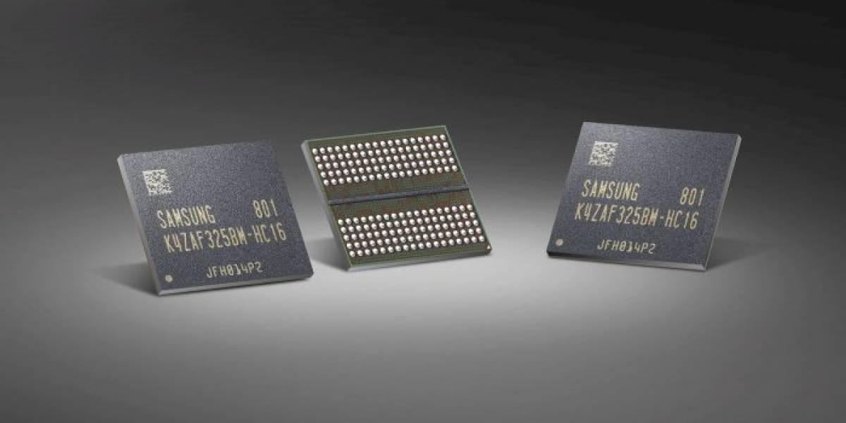 Samsung comienza a producir su memoria GDDR6 para GPUs