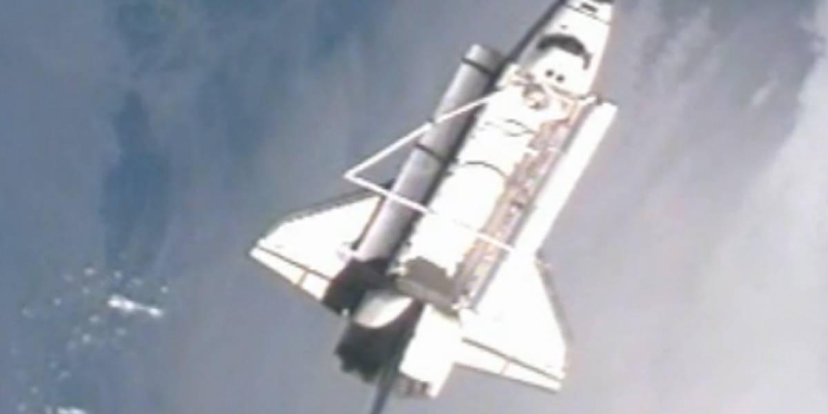 Transbordador Discovery se despide de la Estación Espacial Internacional