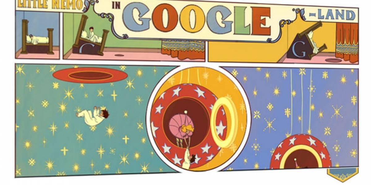 Google se rinde ante el cómic con un doodle interactivo y desplegable