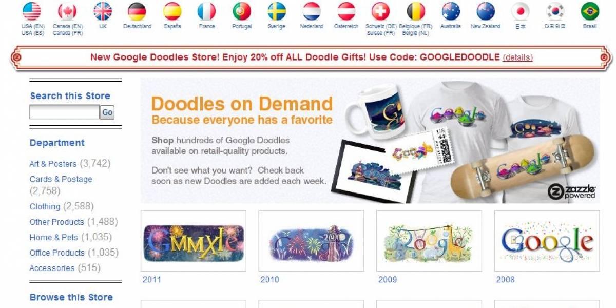 Google lanza un nuevo sitio de Doodles y abre una tienda para venderlos