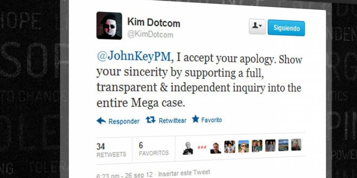 Nueva Zelanda pide perdón a Dotcom por espiarlo ilegalmente
