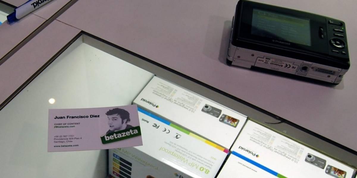 CES09: Probamos la tecnología Polaroid Zink y esto es lo que opinamos