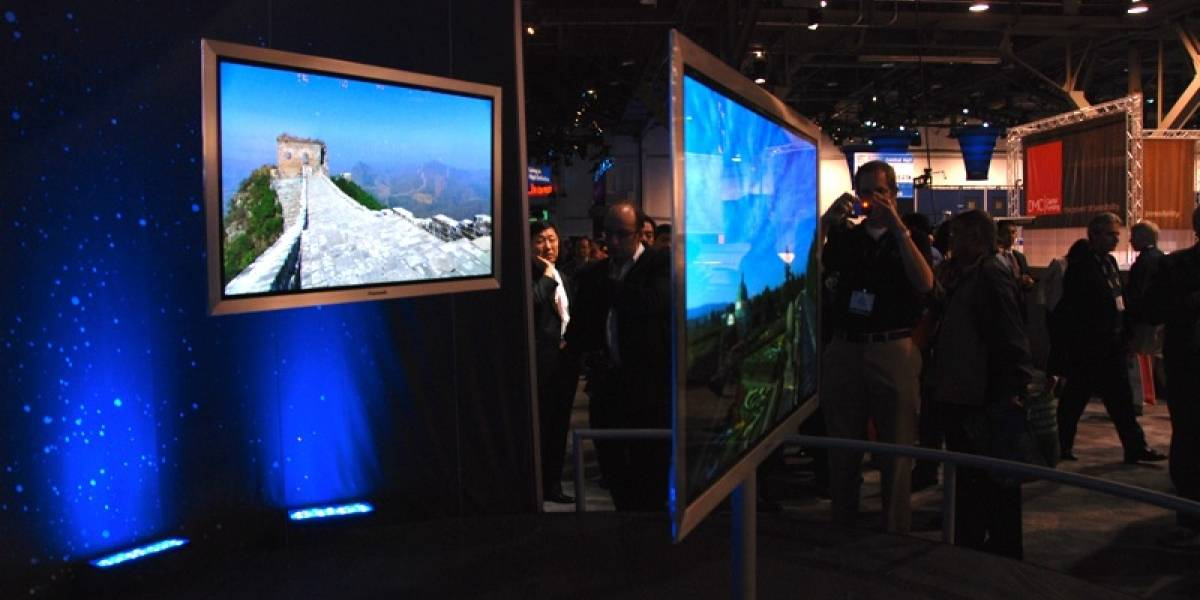 CES09: Impresionante Panasonic Viera súper ultra delgado