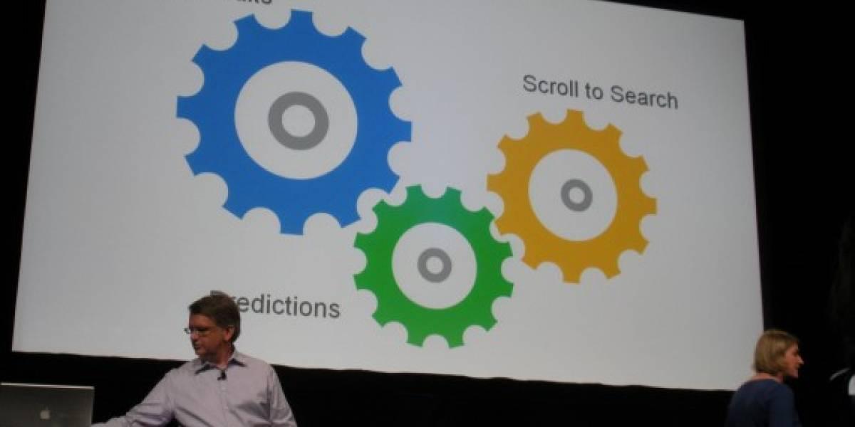 Google Instant ahora permite navegar con el teclado