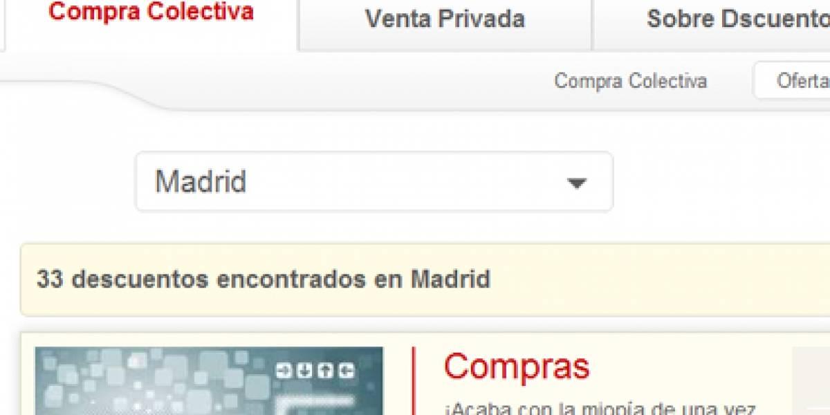 Dscuento: Todas las ofertas Web de España en un solo portal