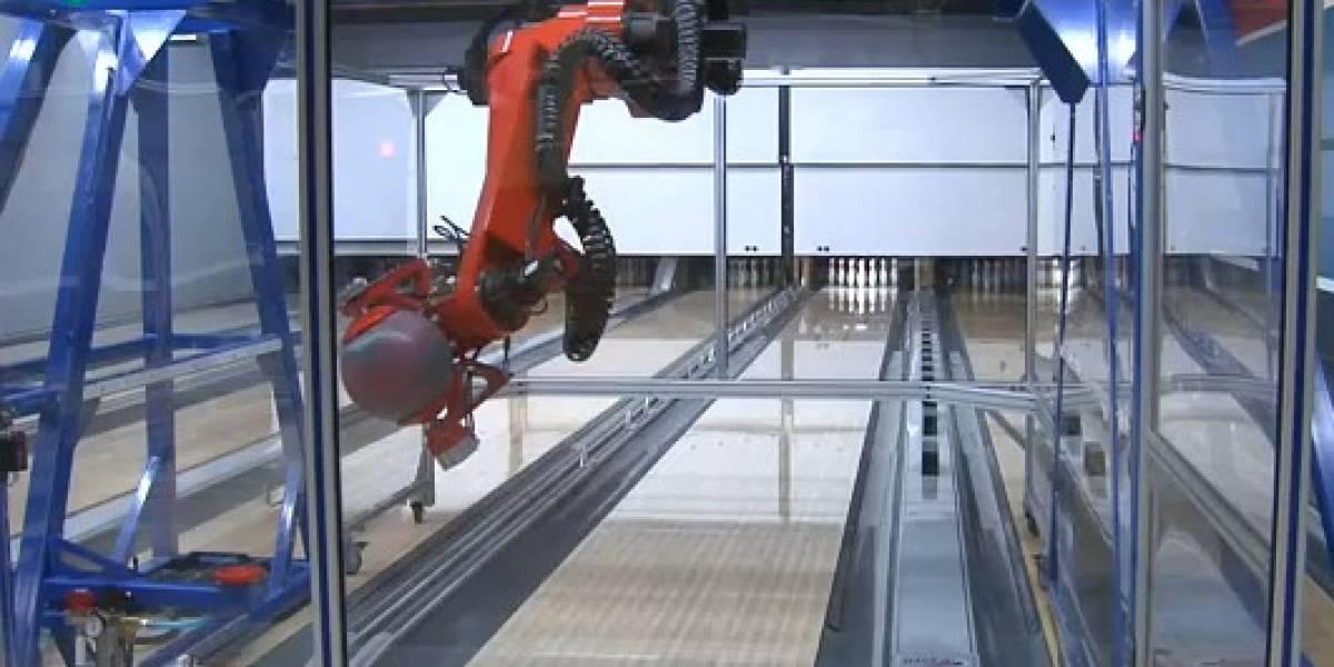 EARL: El robot probador de bolos