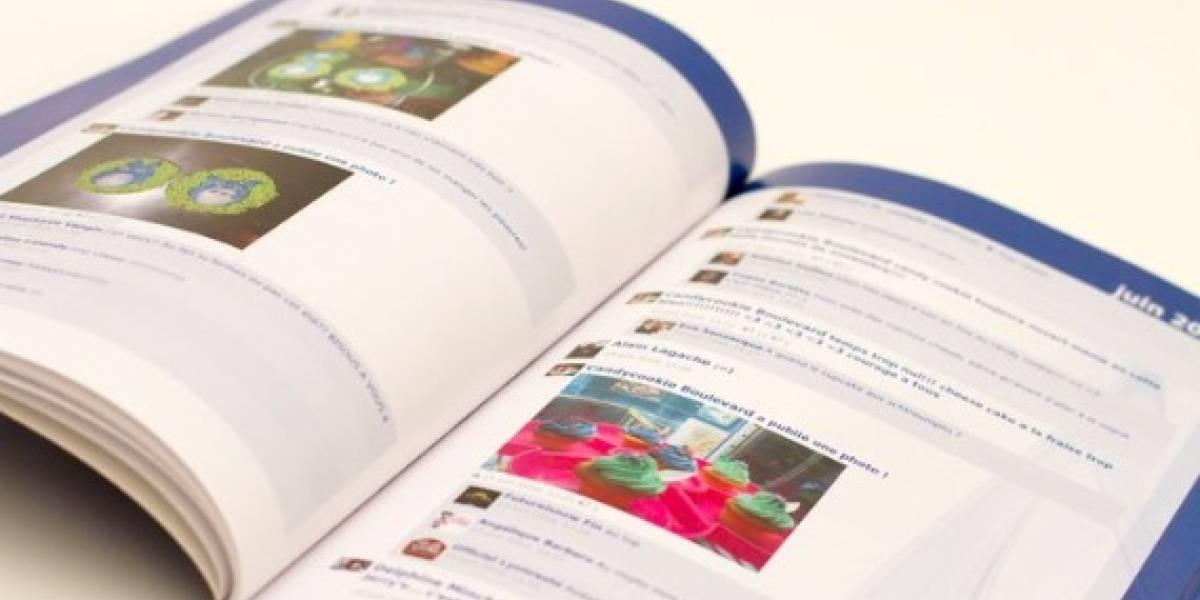 Facebook te ofrece crear el libro de tu vida