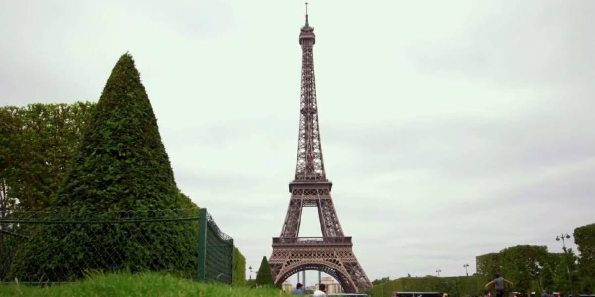 Un paseo por la Torre Eiffel gracias a Street View