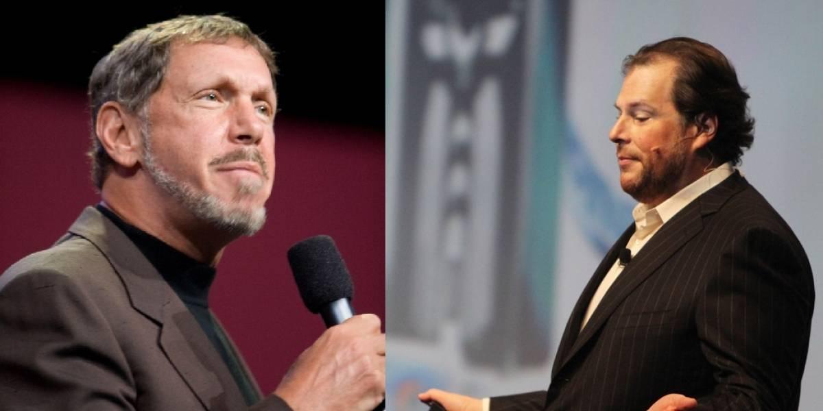 La unión hace la fuerza: Oracle firma alianza con su rival Salesforce.com