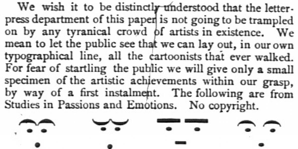 Los primeros emoticonos sin copyright