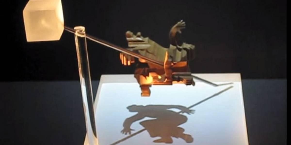 Imperdible: Crean esculturas abstractas que generan sombras definidas