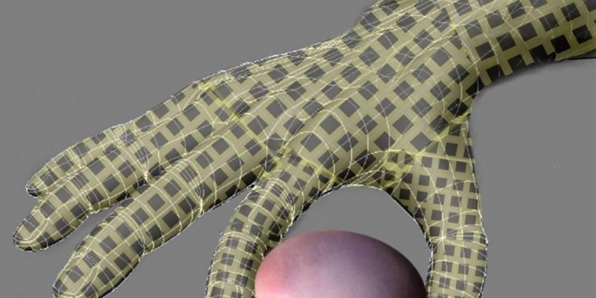 e-skin: Piel artificial sensible a la presión creada a partir de nanocables