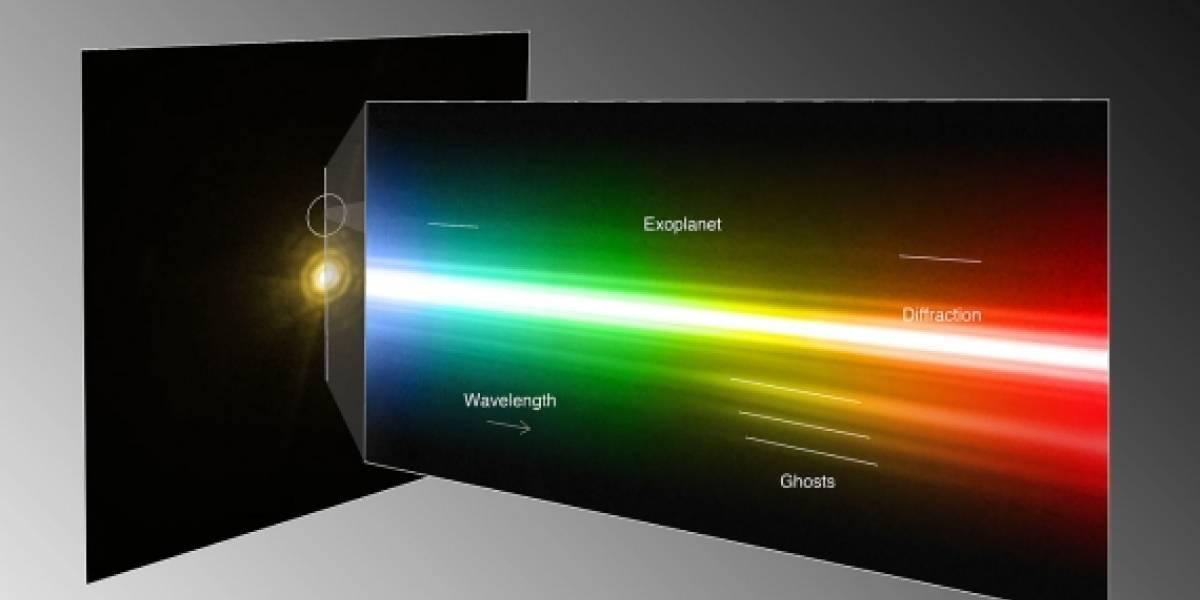 Captan un espectro de luz de un planeta fuera del Sistema Solar