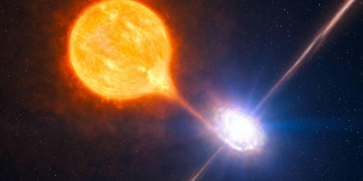 Captan una burbuja gigante de gas formada por un agujero negro