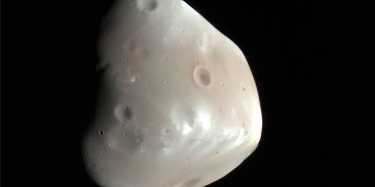 Imperdible: Imagen de la luna Deimos