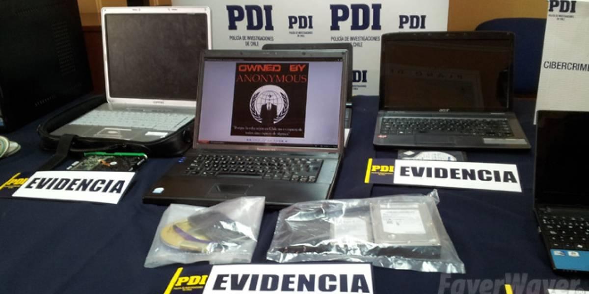 """Chile: Policía de Investigaciones afirma que """"desarticuló"""" a parte de Anonymous en Chile"""