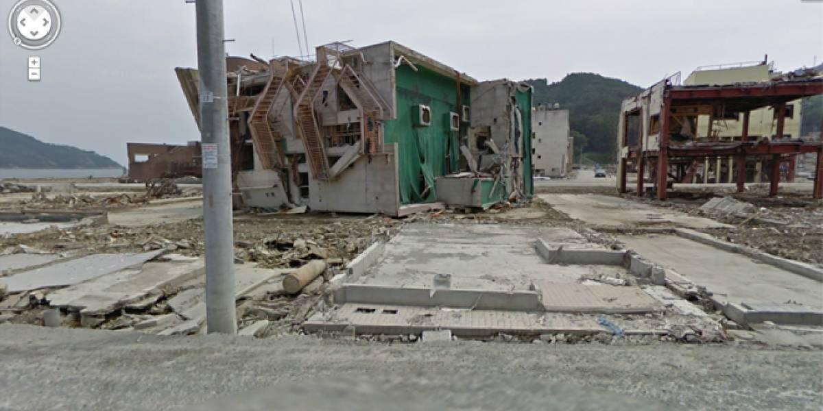 Google Street View nos muestra Japón después del terremoto