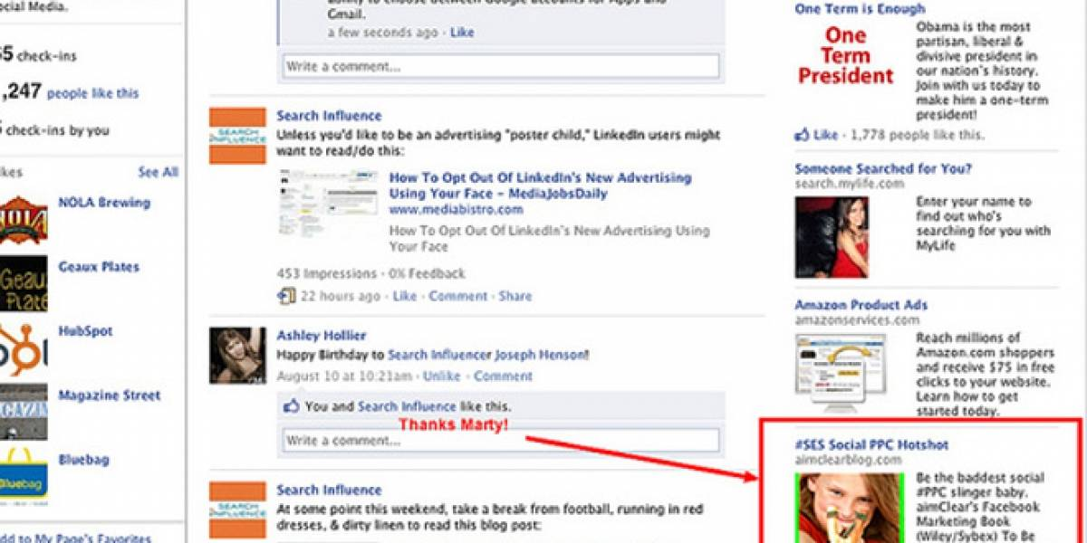 Estudio demuestra que publicidad en Facebook es más efectiva que otras plataformas