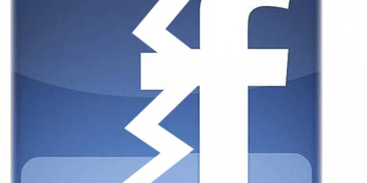 Facebook sufre caída momentánea (Actualizado)