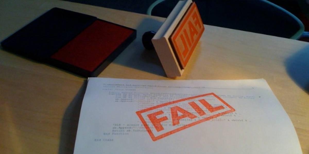 11 grandes fails del primer semestre